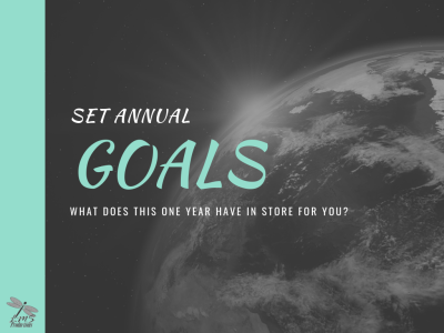 SET ANNUAL GOALS (Mission Accomplished 7/10)
